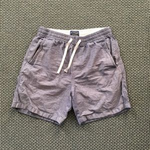 Chambray J Crew Dock Shorts